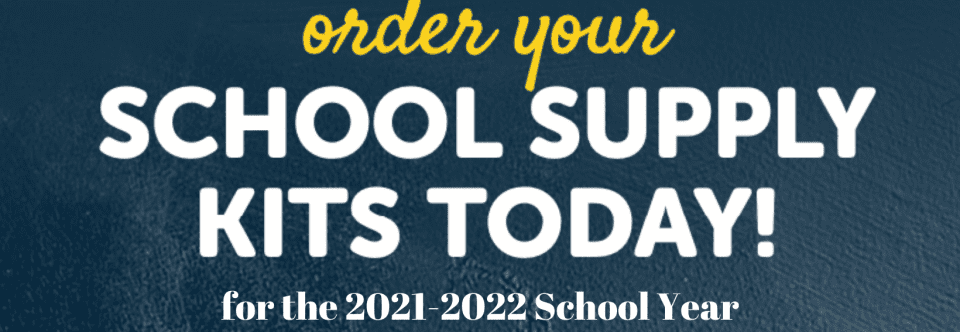 Edukits Now Available for 2021-2022 School Year